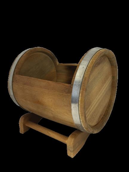 Pflanzkübel Kiefer lackiert 10 Liter auf Stand